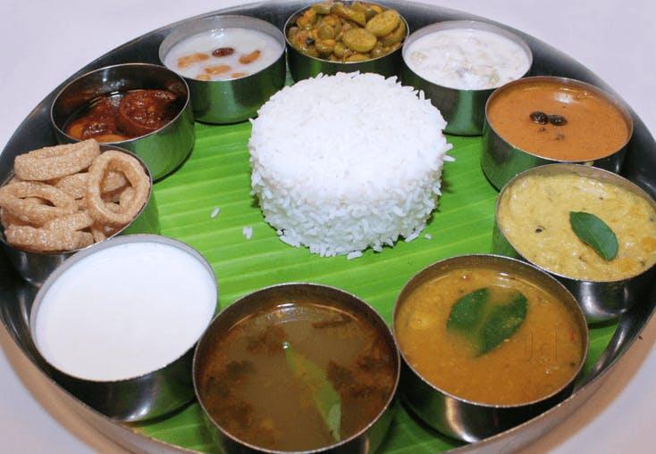 Dish,Food,Cuisine,White rice,Steamed rice,Meal,Ingredient,Jasmine rice,Tamil food,Andhra food