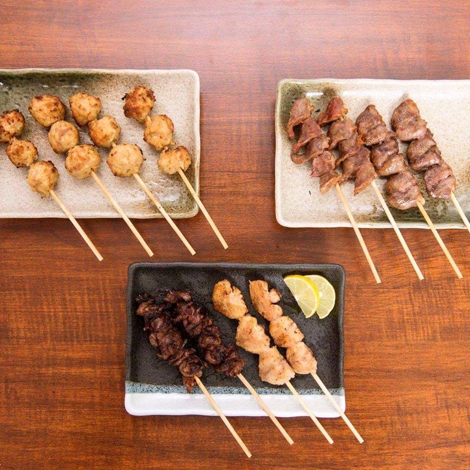 Dish,Food,Cuisine,Yakitori,Skewer,Arrosticini,Pincho,Brochette,Shashlik,Sate kambing
