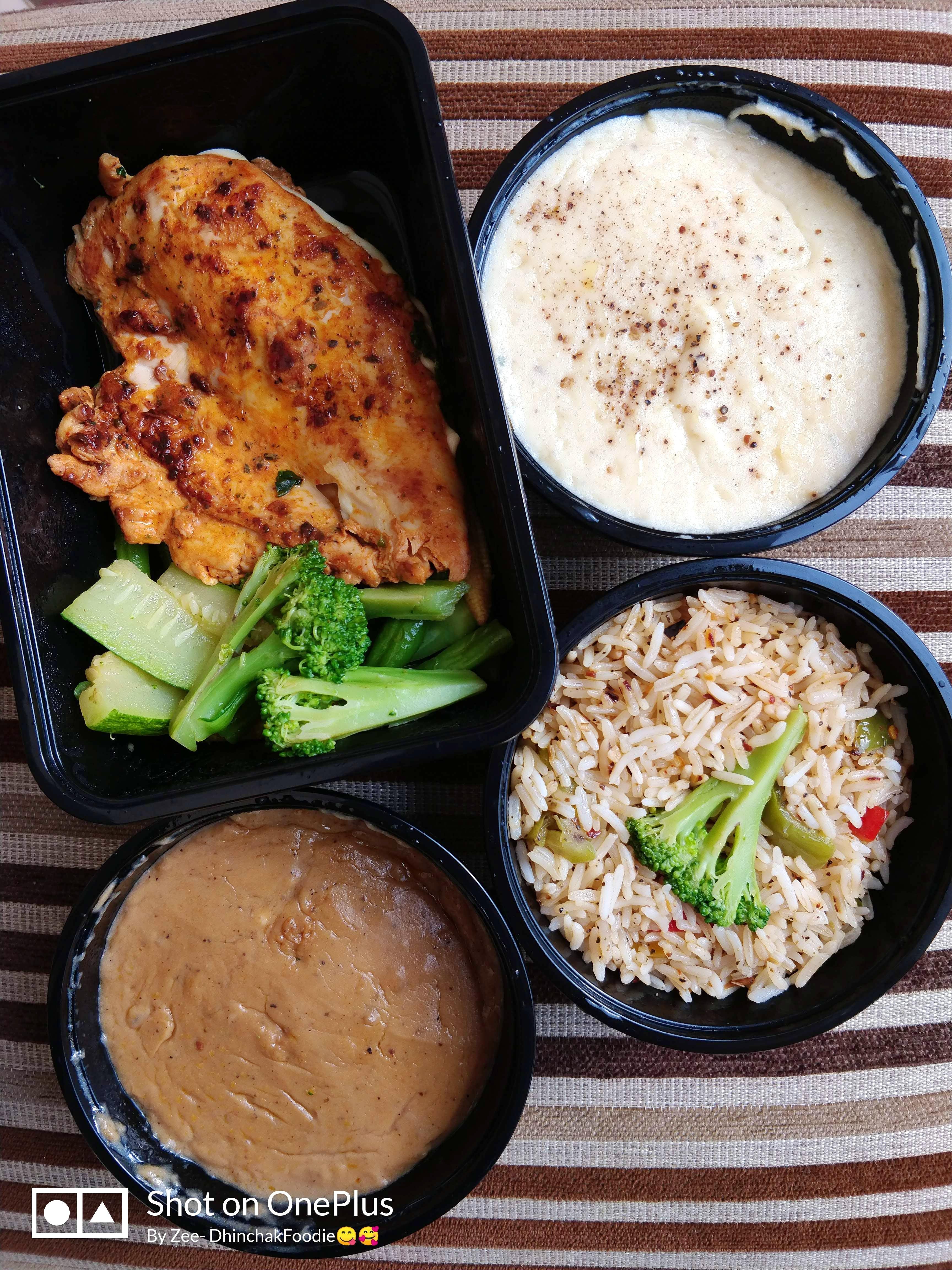 Healthy Much? Order Yum Chicken Steak From This Delivery Kitchen Now!