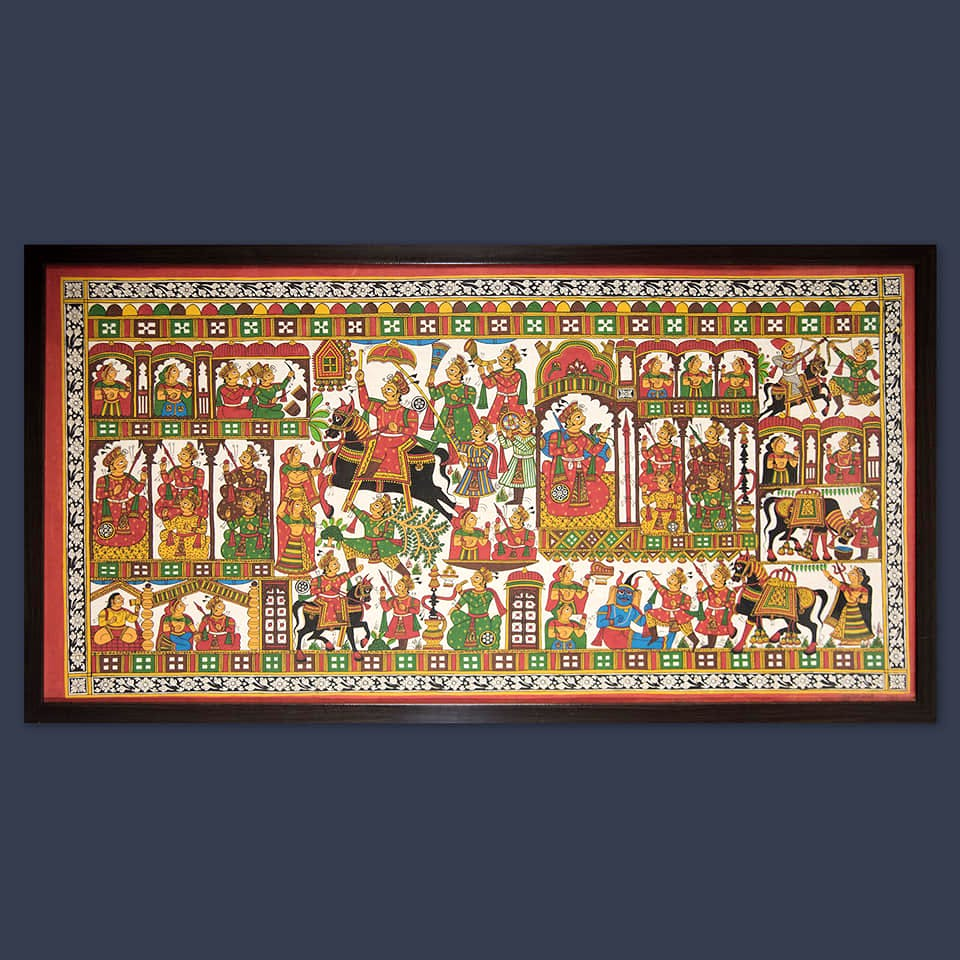Art,Tapestry,Painting,Textile,Rug,Visual arts,Rectangle,History,Miniature