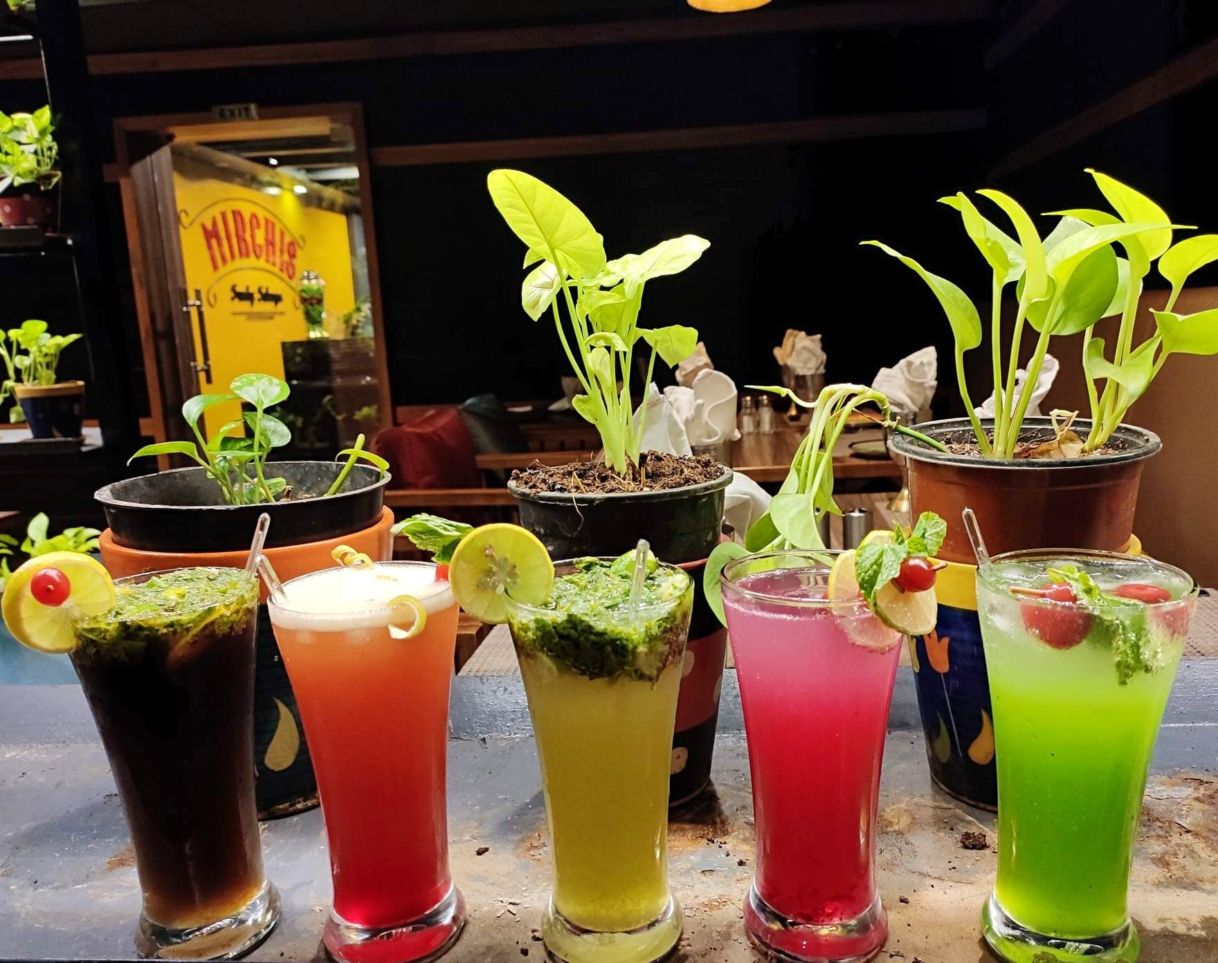 Drop By Mirchis For Their Newly Introduced Yum Mocktails!