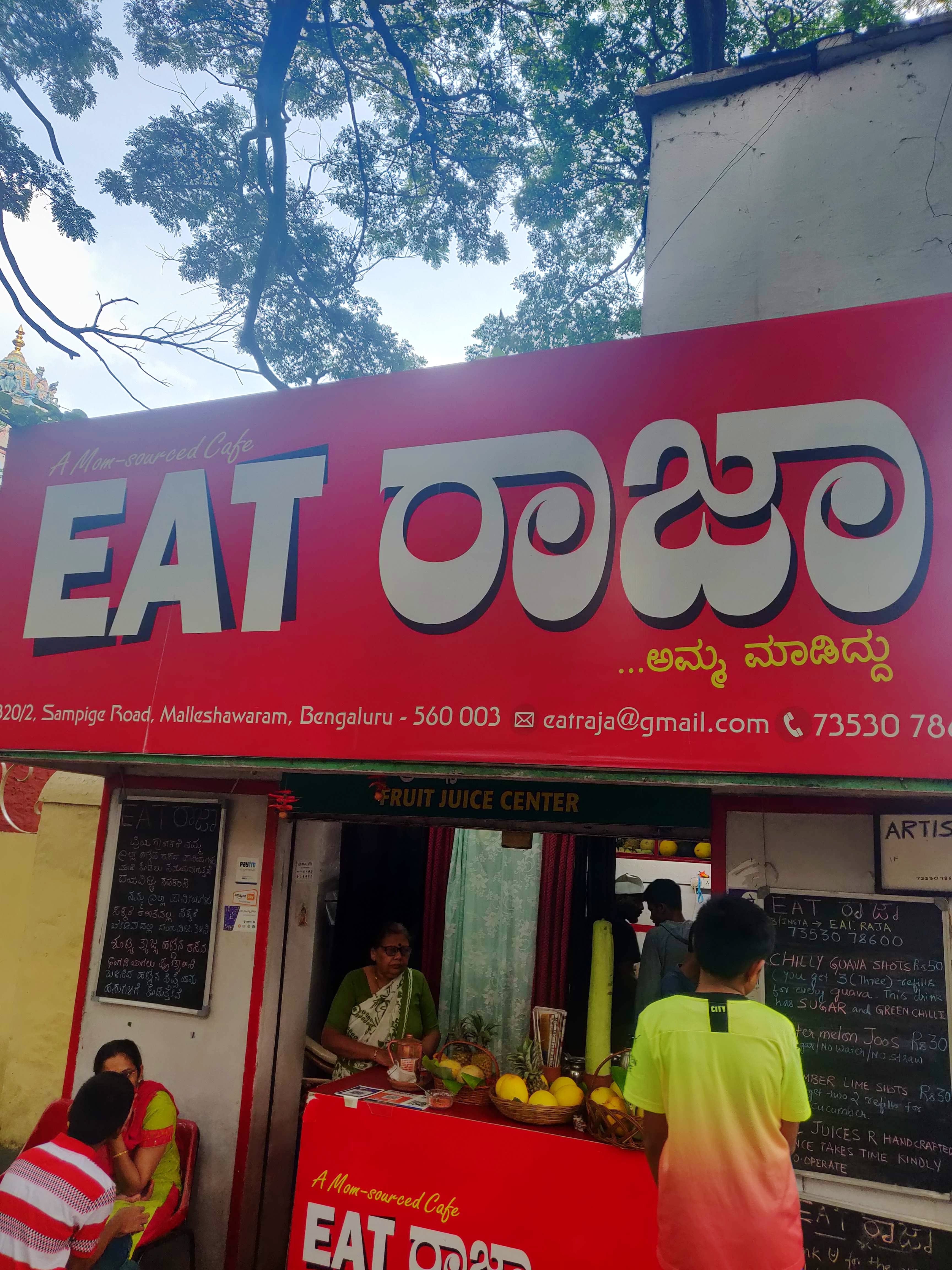 This Juice Outlet In Malleshwaram Follows A Zero Wastage Concept!