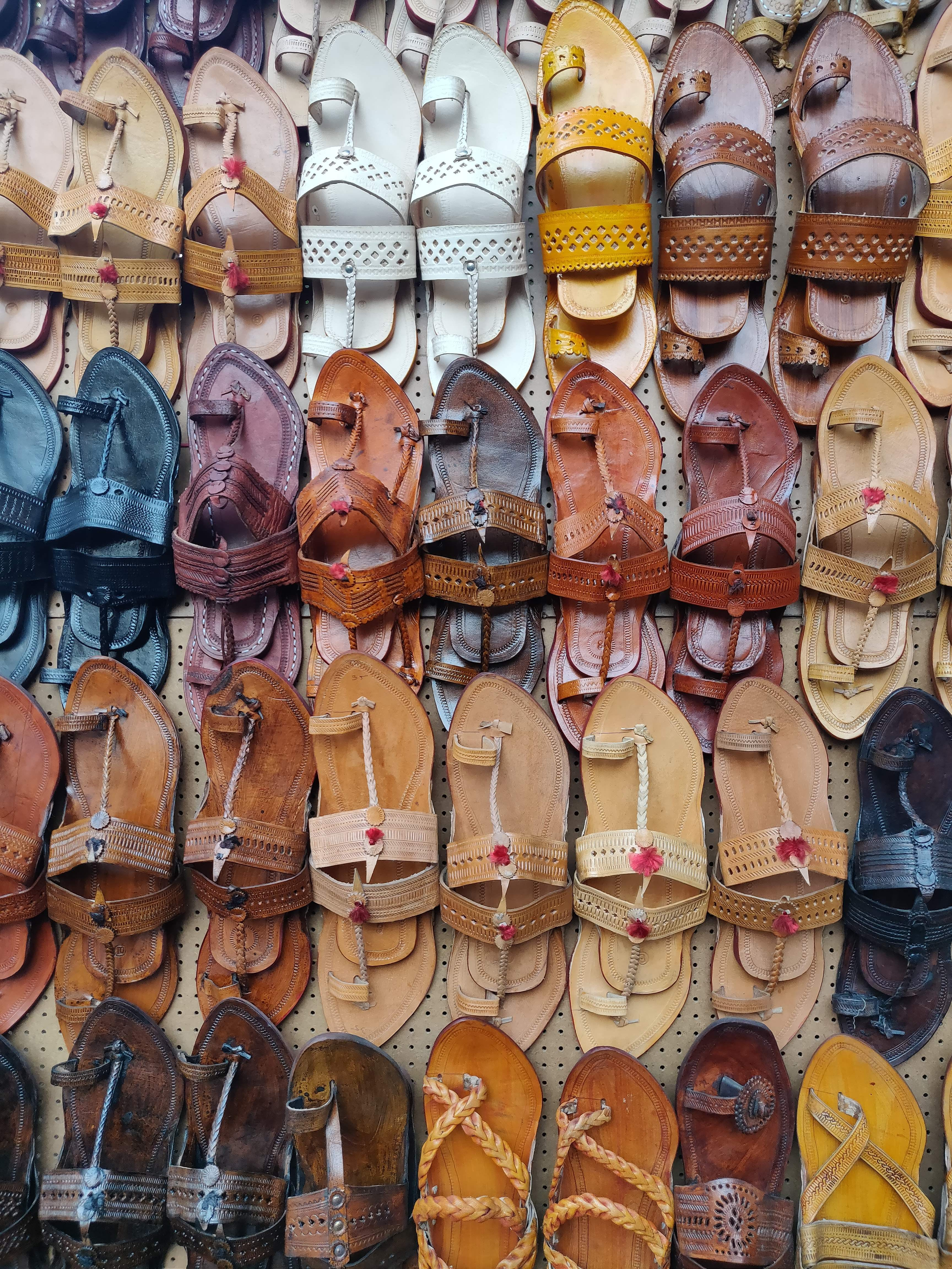 image - Forget Jaipur, These Stores In Hyderabad Have All Kinds Of Kolhapuri Chappals
