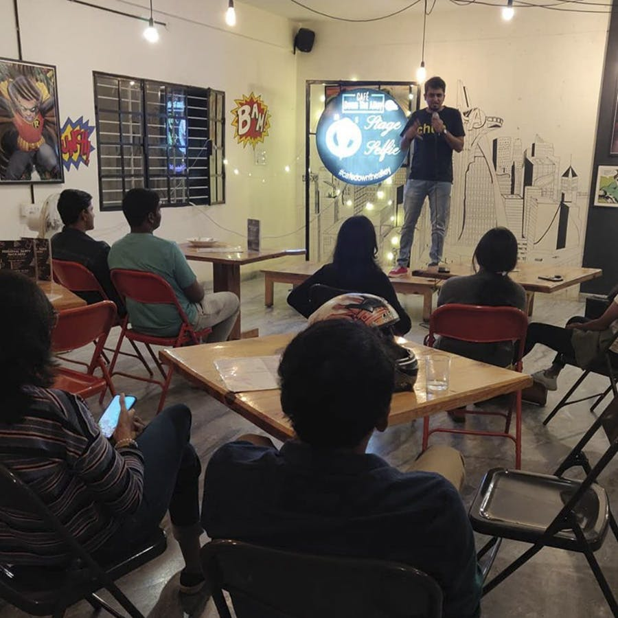 image - Try Your Hand At Stand Up Comedy With Blah Blah, A Crowd Work Stand Up Comedy Show