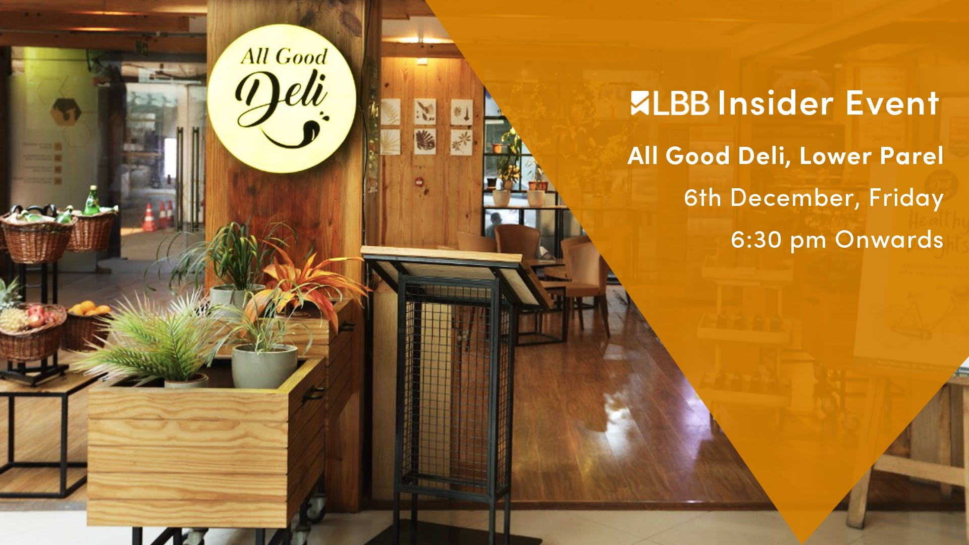 image - Register For This #InsiderOnlyEvent At All Good Deli, This Friday!
