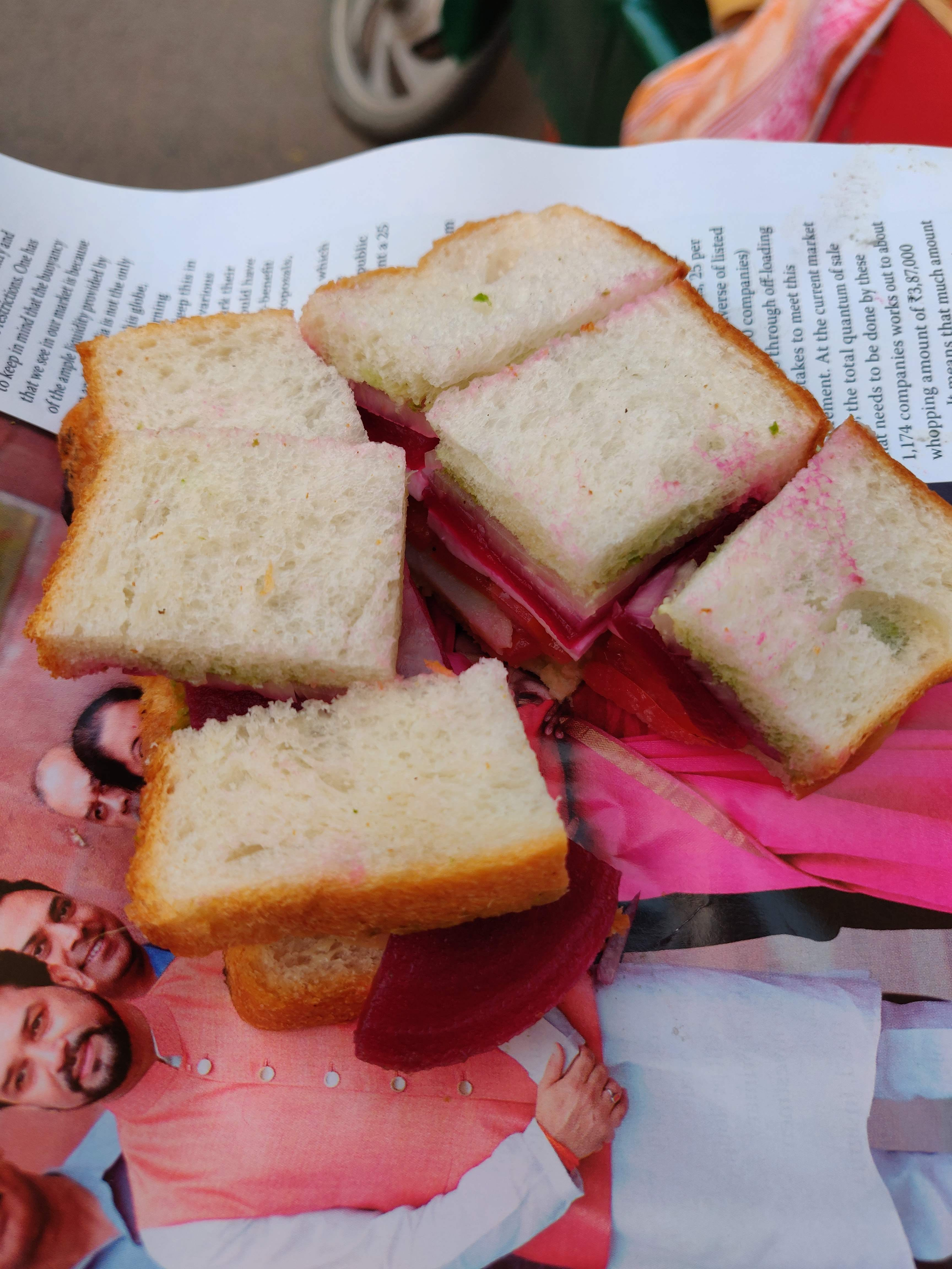 When Mumbai'S Famous Bombay Sandwich Meets Kanpur'S People