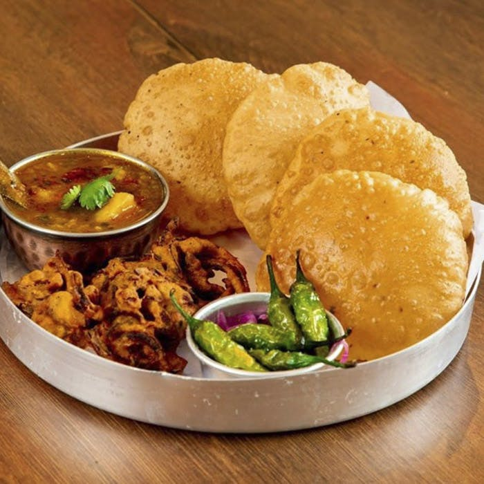 Dish,Food,Cuisine,Puri,Ingredient,Fried food,Junk food,Chole bhature,Fast food,Produce