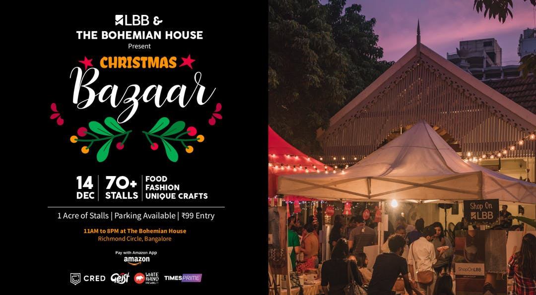 image - Eat, Shop, Make Merry: You HAVE TO Be At Christmas Bazaar By LBB & The Bohemian House!