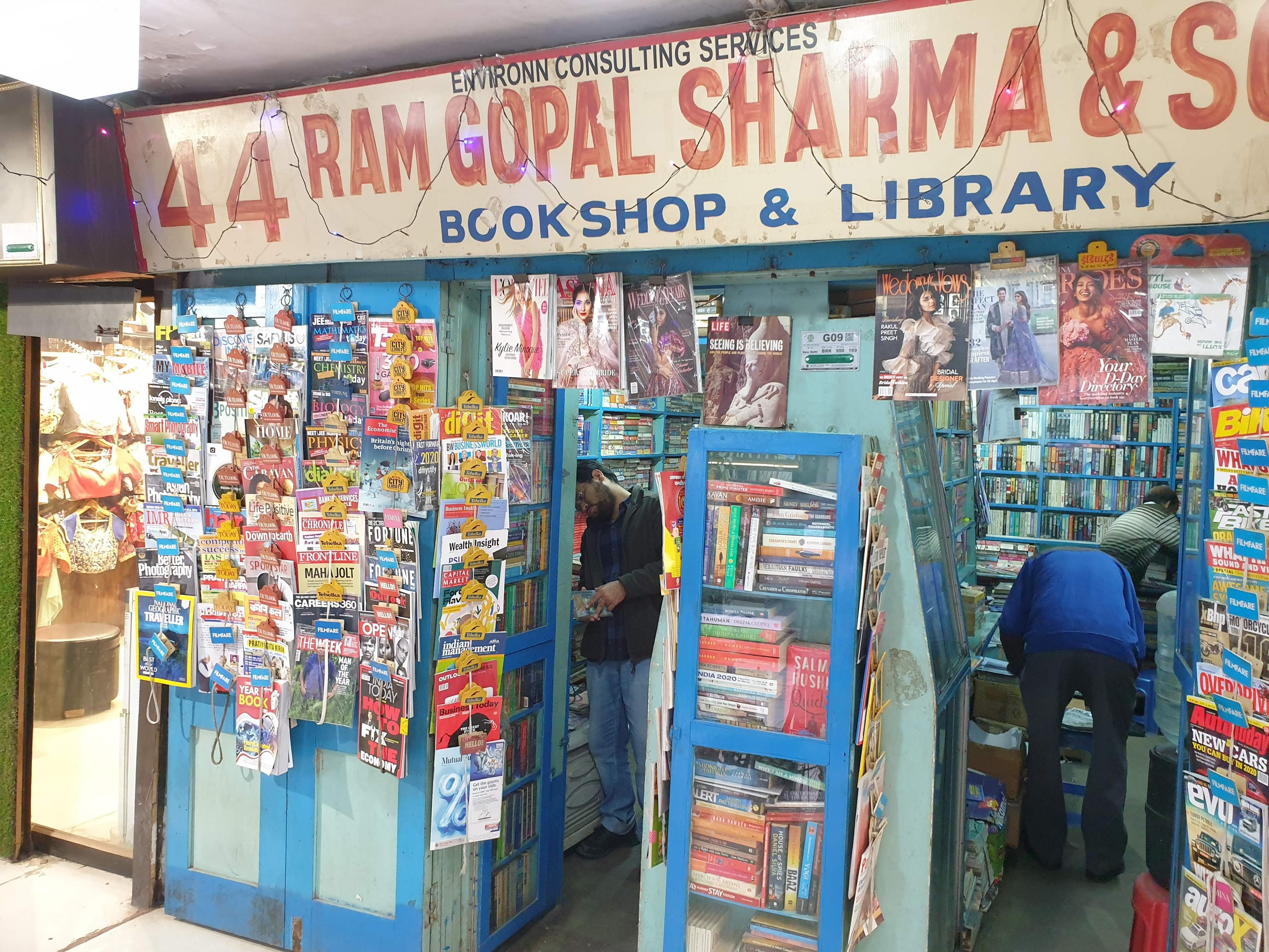 Ram Gopal Sharma & Sons Bookstore: Carpe-Diem In Its True Essence