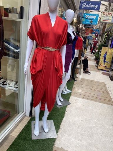 Red,Clothing,Mannequin,Fashion,Costume,Dress,Outerwear,Fashion design,Carmine,Cosplay