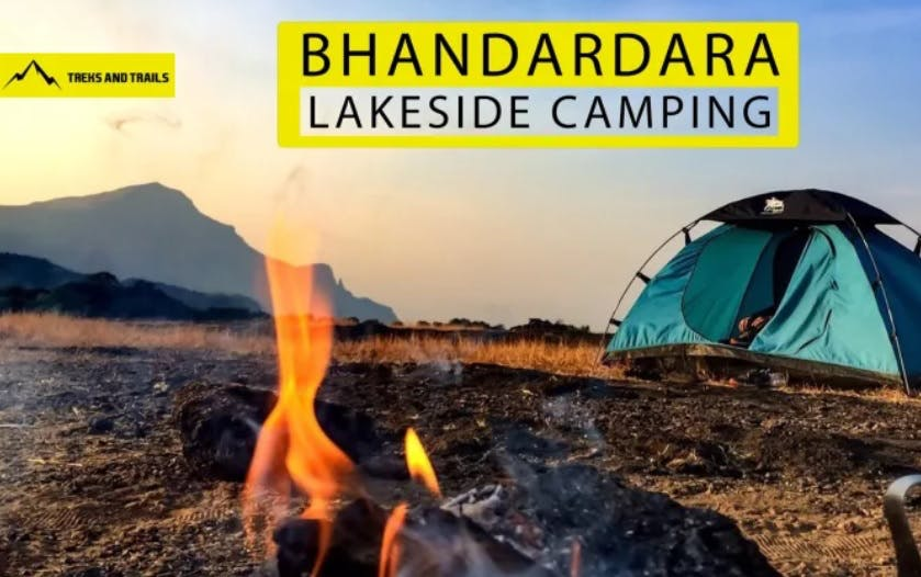 image - Bhandardara Lakeside Camping By Trek And Trails