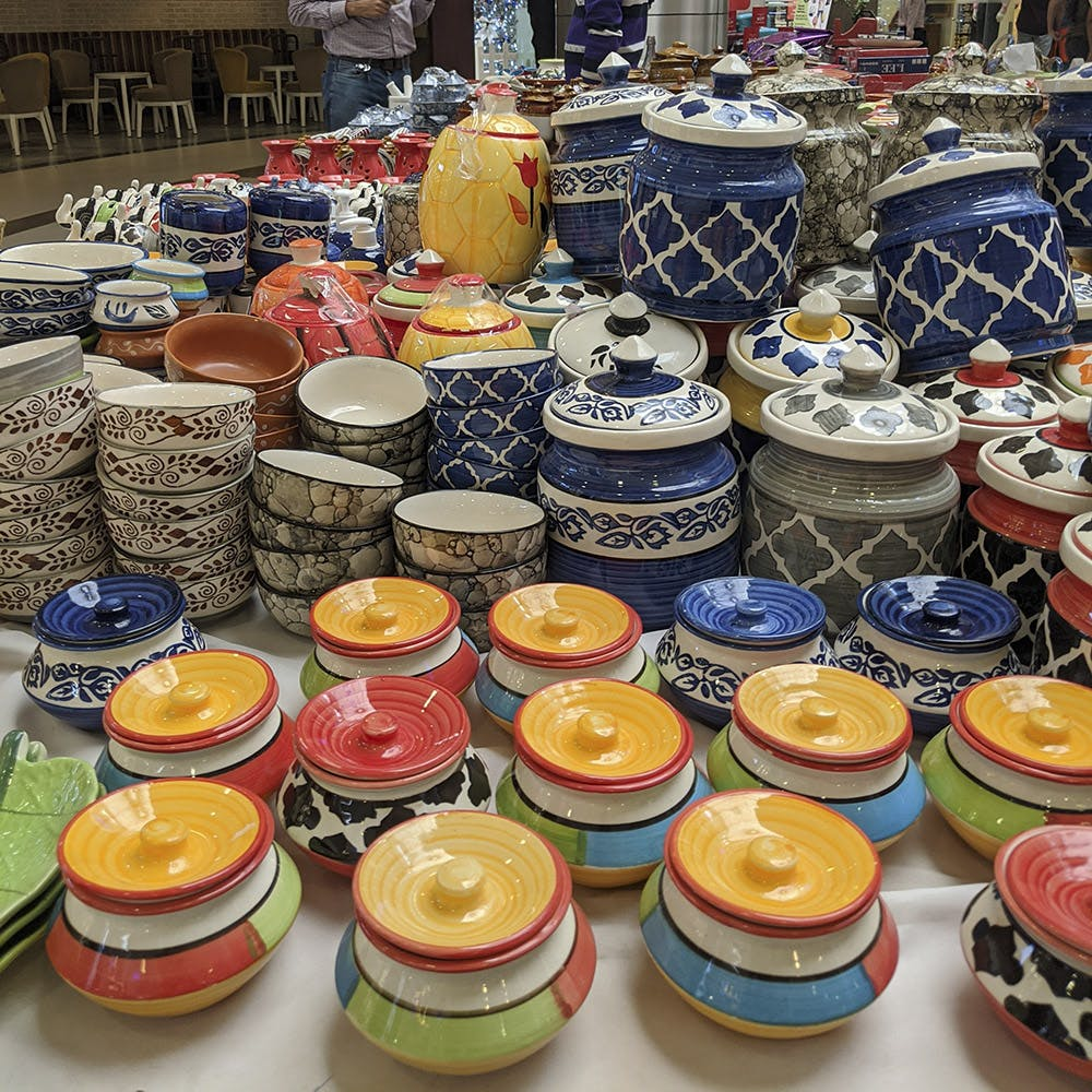 Ceramic,Pottery,earthenware,Market,Food