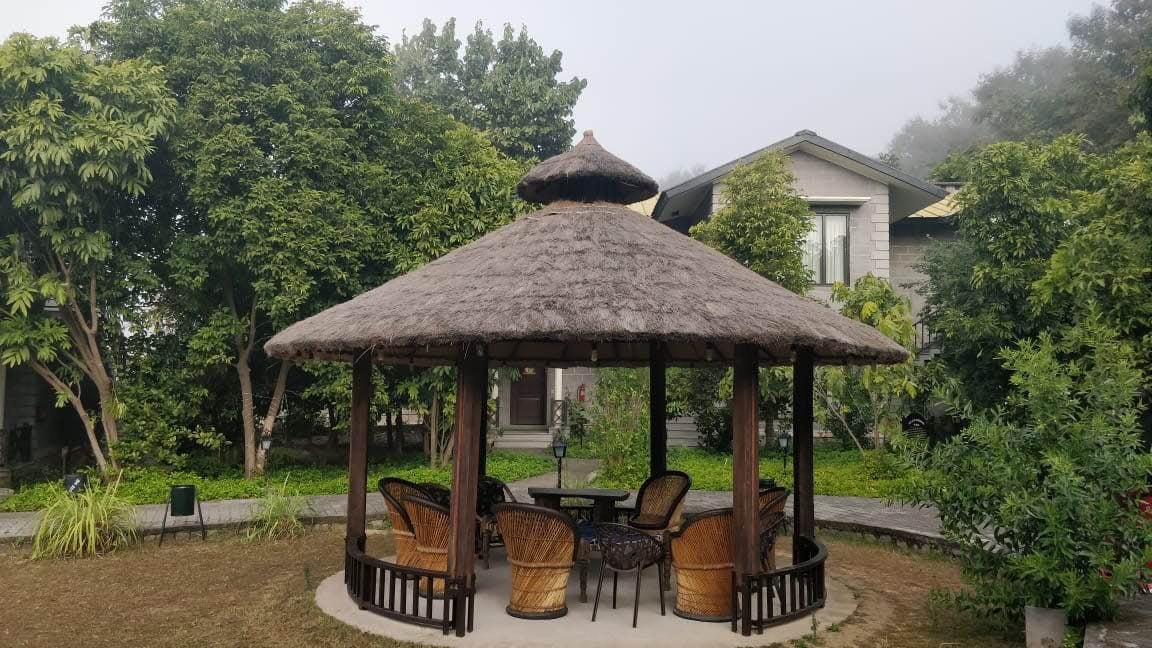 Gazebo,Pavilion,Roof,Thatching,Outdoor structure,Building