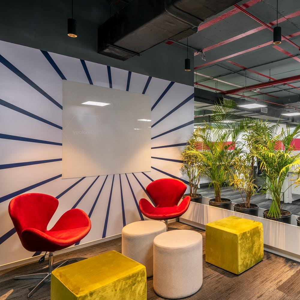 Interior design,Red,Ceiling,Architecture,Design,Room,Lobby,Automotive design,Material property,Furniture