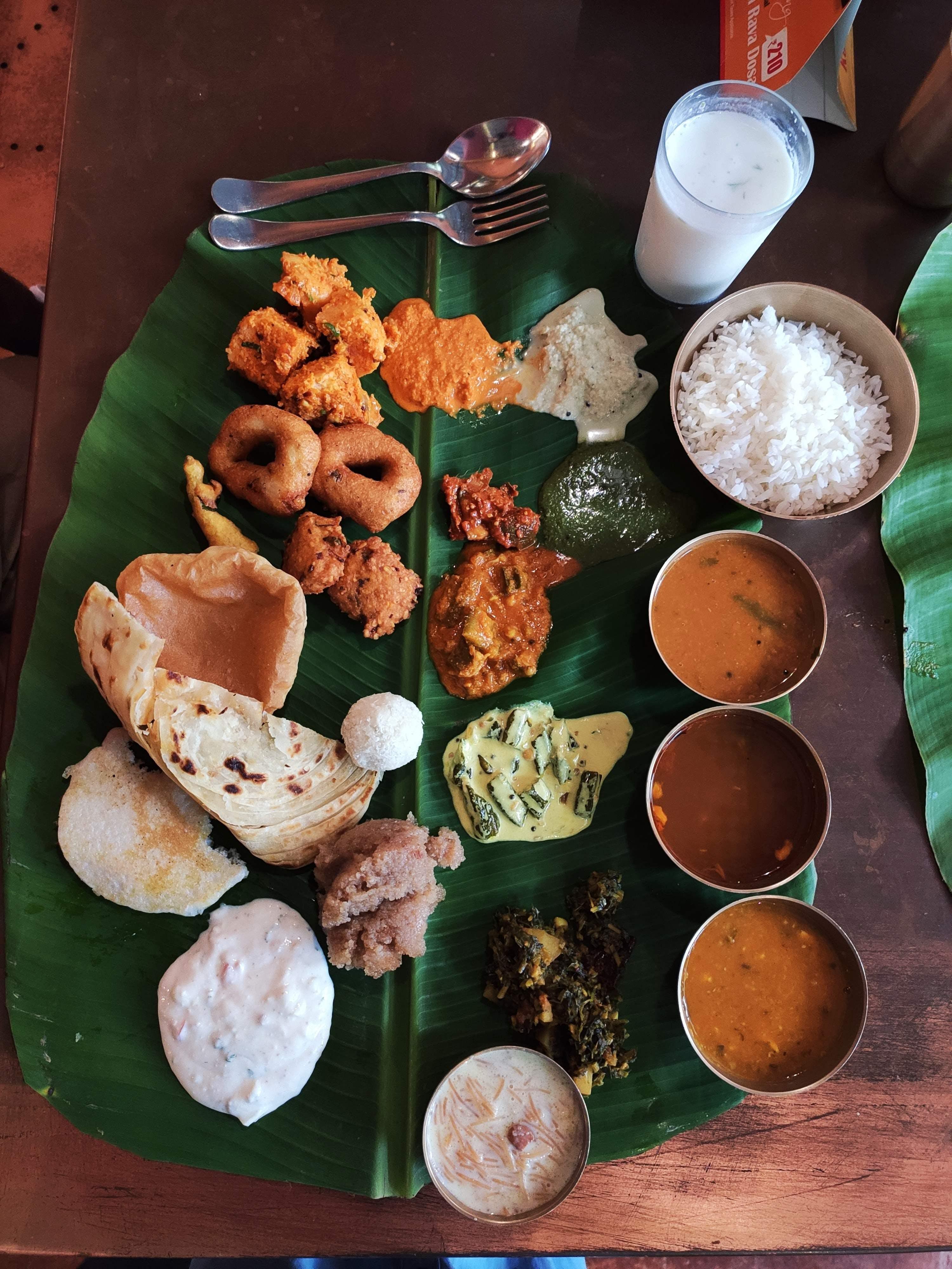 Dish,Food,Cuisine,Meal,Ingredient,Sadya,Andhra food,Breakfast,Vegetarian food,Indian cuisine