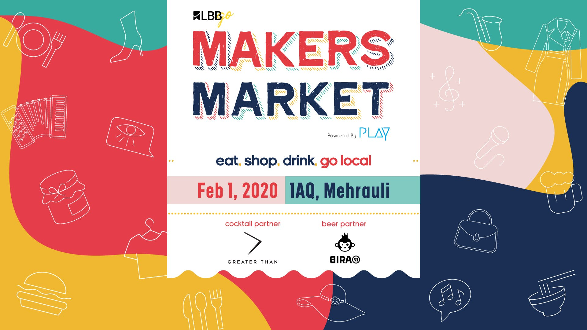 image - Shop, Eat, Drink From India's TOP Emerging Brands At LBB's Makers Market!