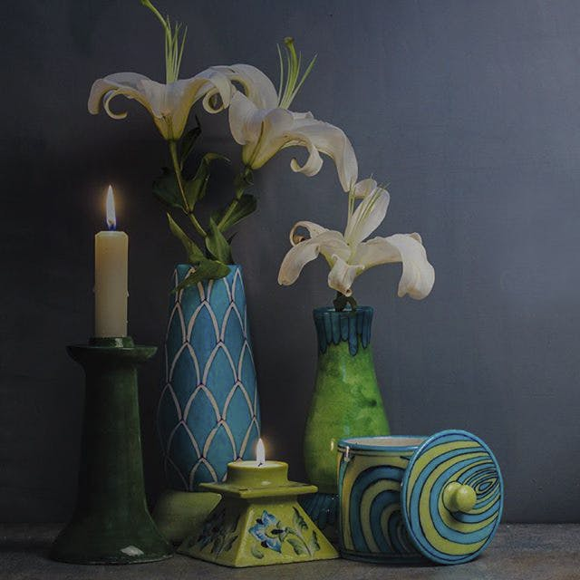 Score Beautiful Jaipur Blue Pottery Ware From This Online Store
