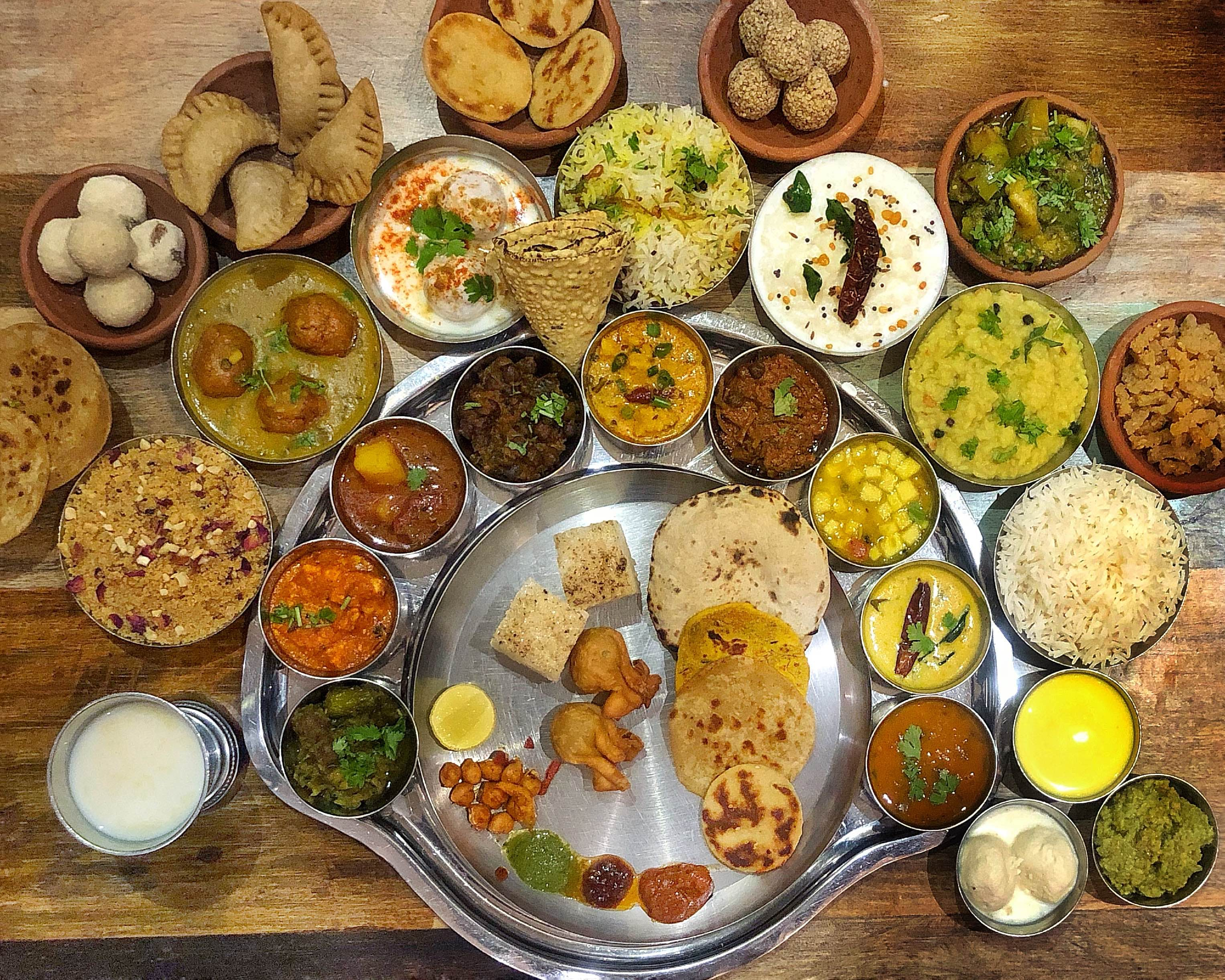 Gorge On This Gigantic Rajasthani Thaali Only For INR 675!