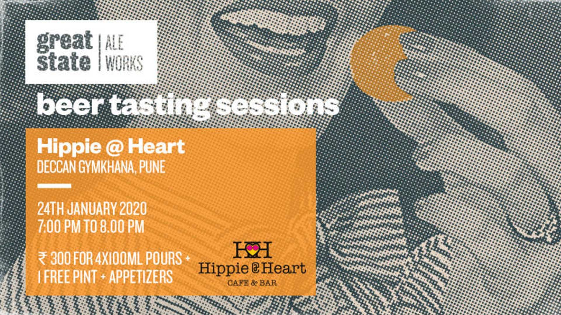 image - Beer Tasting Session at Hippie@Heart, Deccan