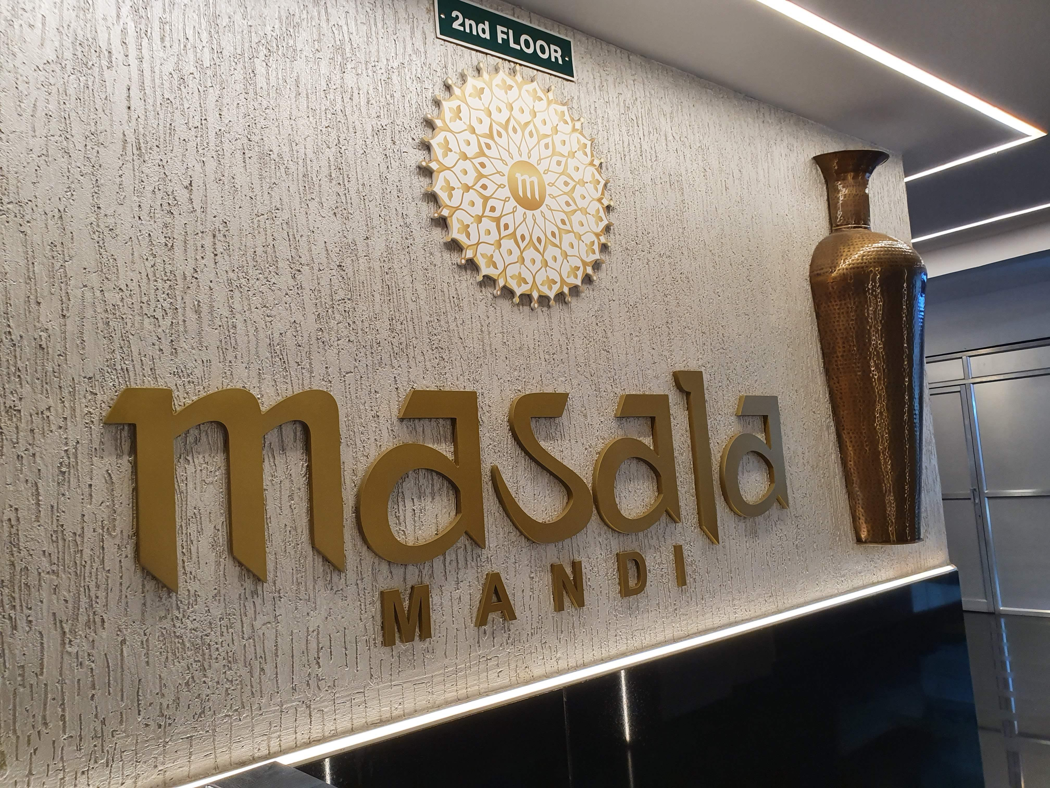 Masala Mandi : New Outlet Offering North Indian Style Buffet.