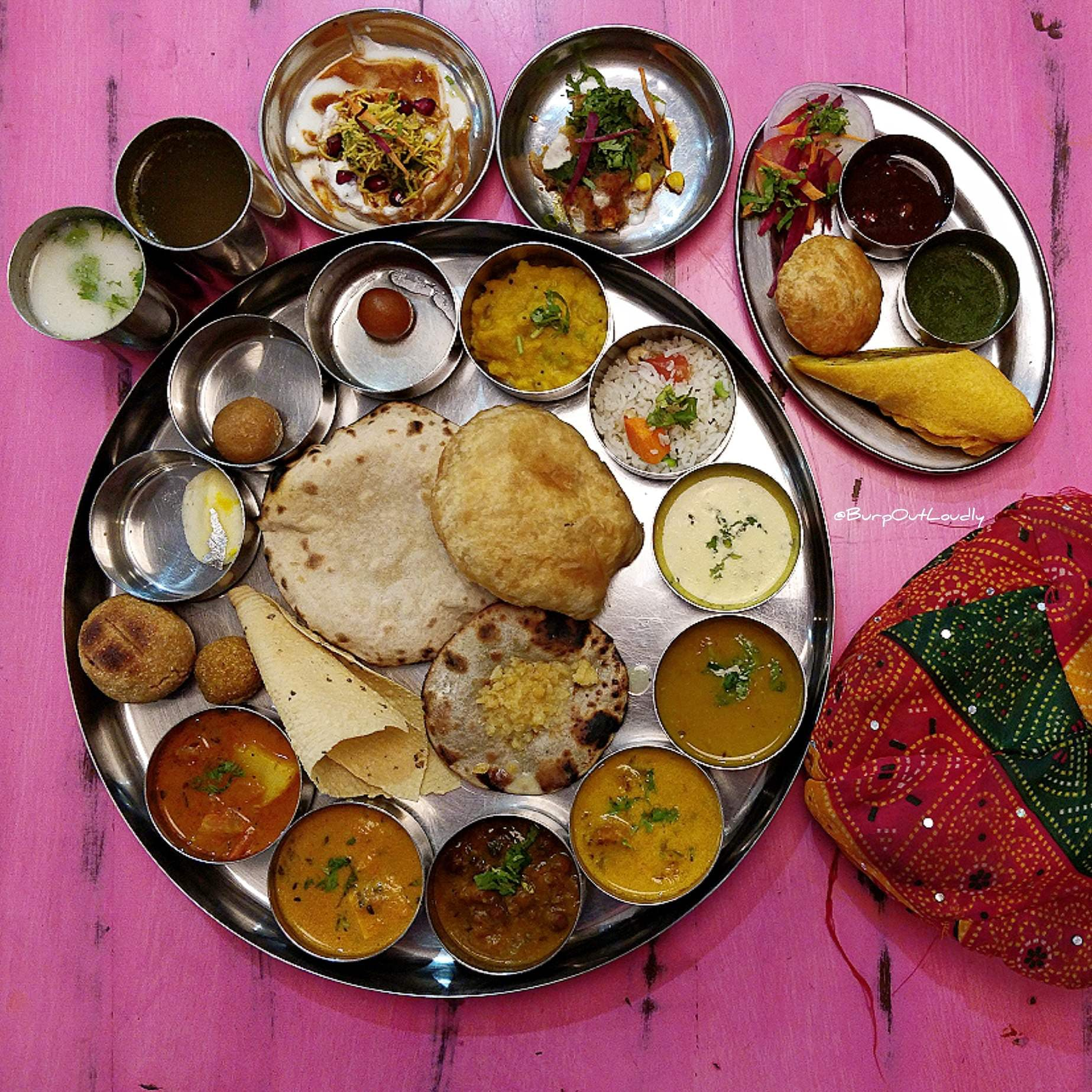 Have You Checked Out NH8 Yet? We're Loving Its Rajasthani Thali!