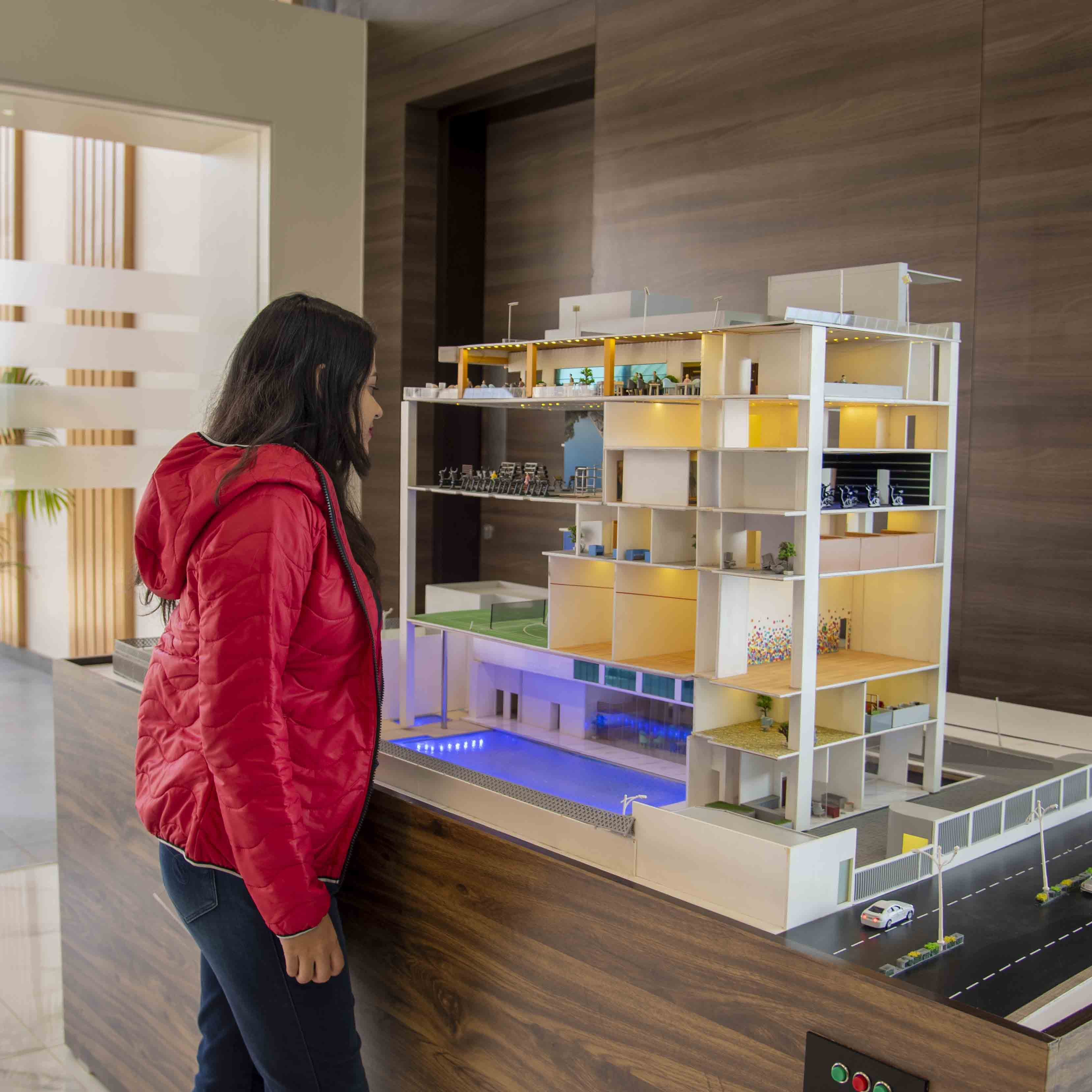 Shelf,Shelving,Furniture,Yellow,Architecture,Room,Cabinetry,Interior design,Design,Building