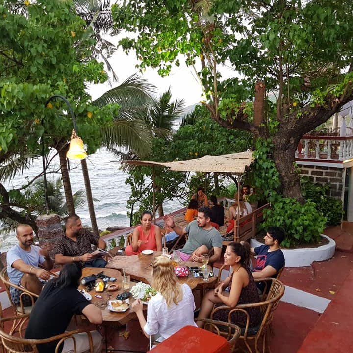 This Mediterranean Taverna On The Beach Is Our Favourite Sunset Spot In Anjuna