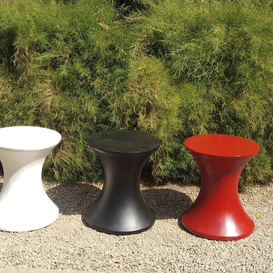 Colourful Planters, Wooden Benches From Whitefield Store Patio, Will Perk Up Your Home