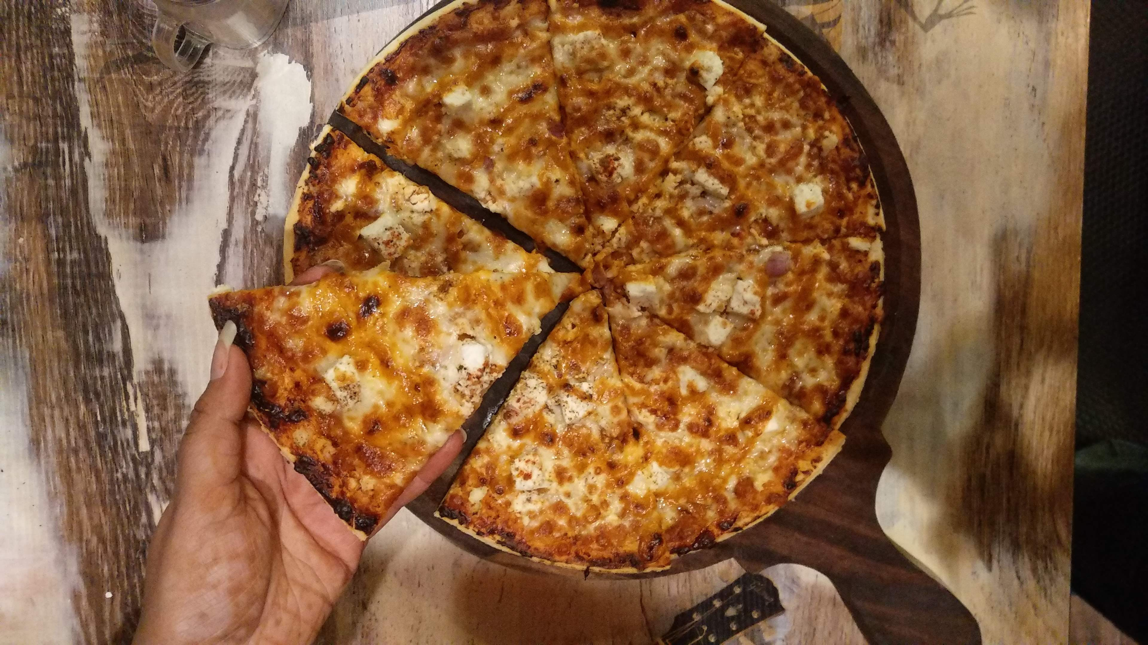 Dish,Food,Cuisine,Pizza cheese,Ingredient,Junk food,Pizza,Frico,Baked goods,Flamiche