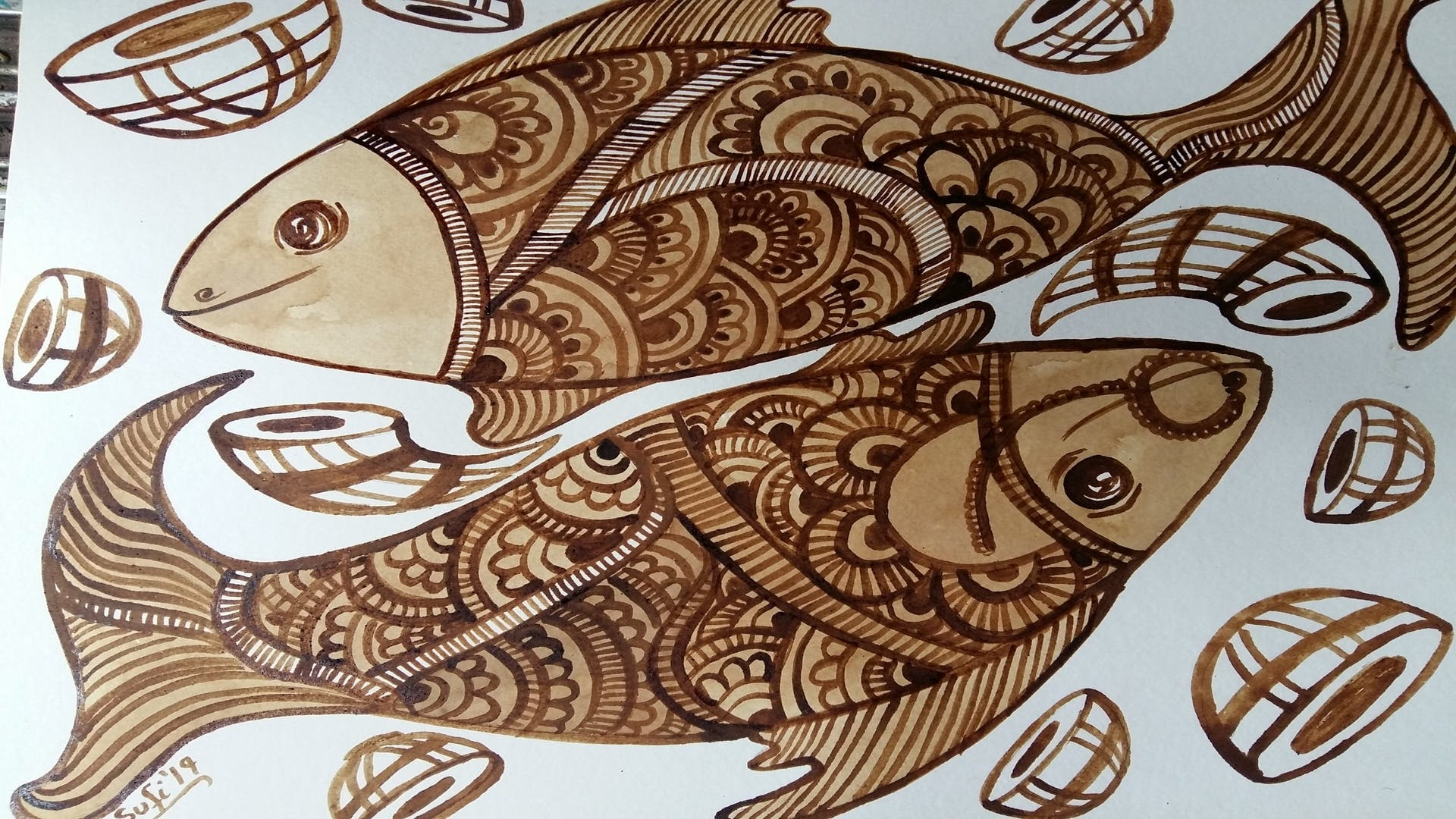 image - Learn The Art Of Patachitra As LBB Hosts A Bengal Fish Patachitra Workshop
