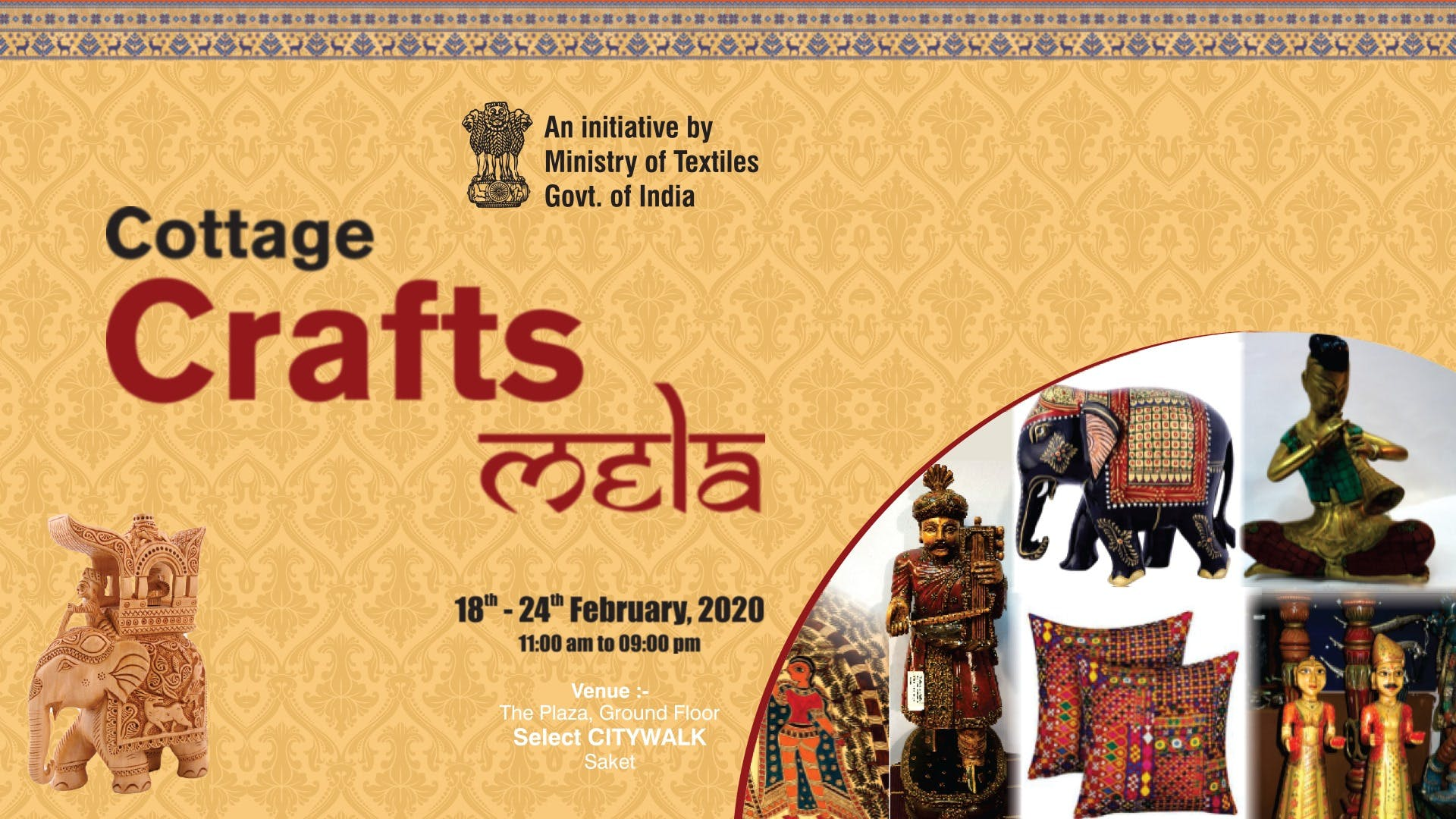 image - Crafting Yarns Of Happiness For You! The Cottage Crafts Mela Is Back With So Much More This February!
