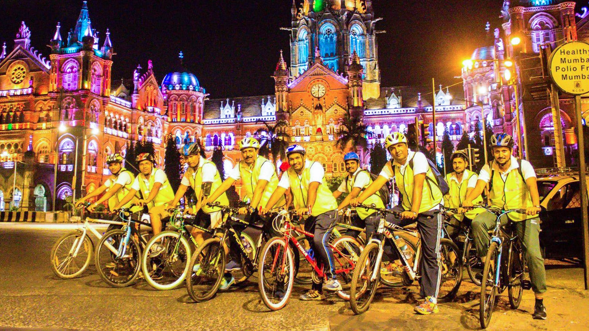 image - Explore Mumbai By Night With This Midnight Cycling Tour