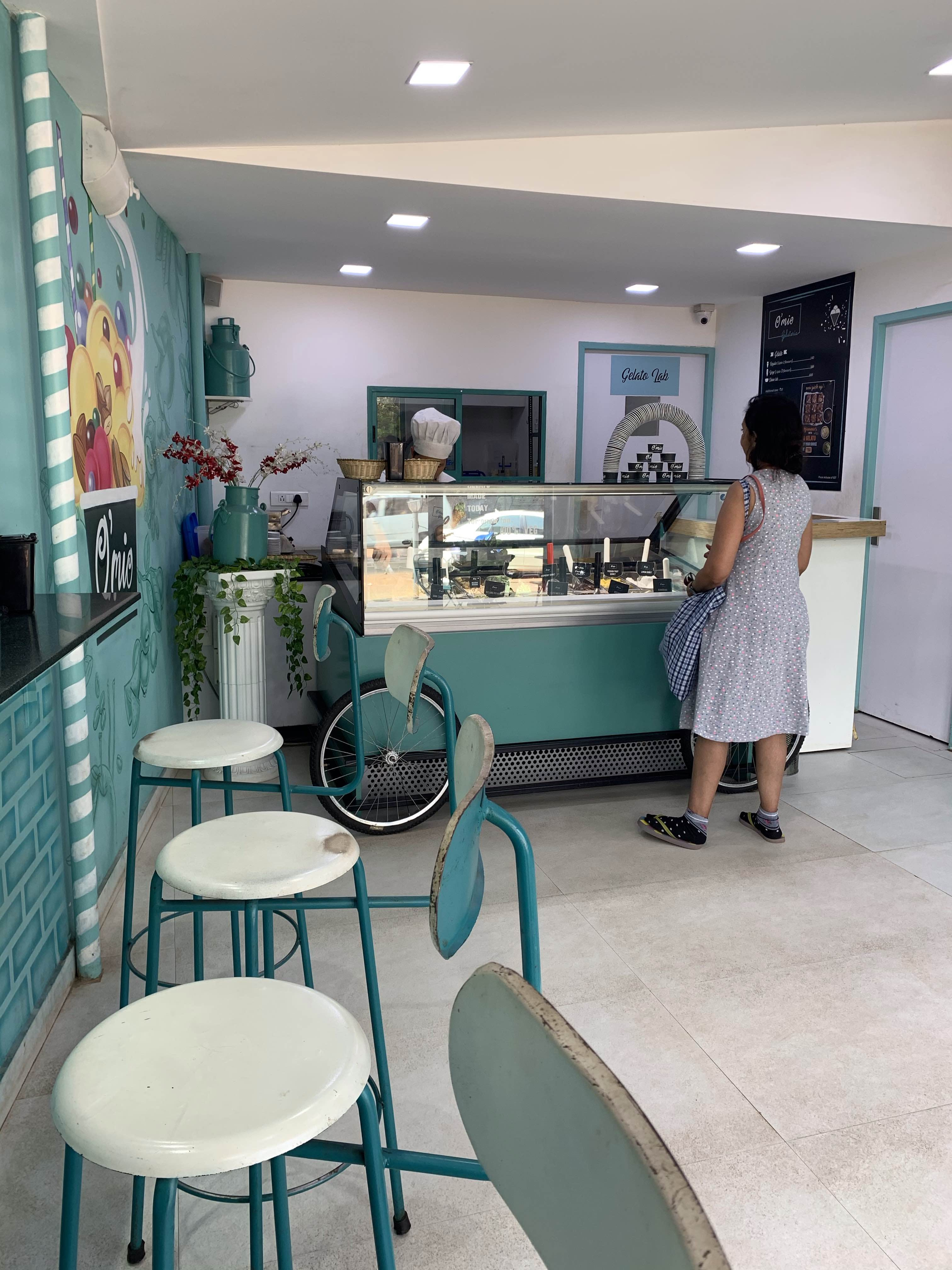 Amazing And Delicious Gelato In This Cute Shop