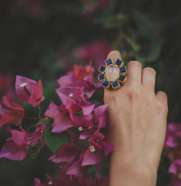 Pink,Purple,Hand,Violet,Ring,Finger,Flower,Petal,Jewellery,Fashion accessory