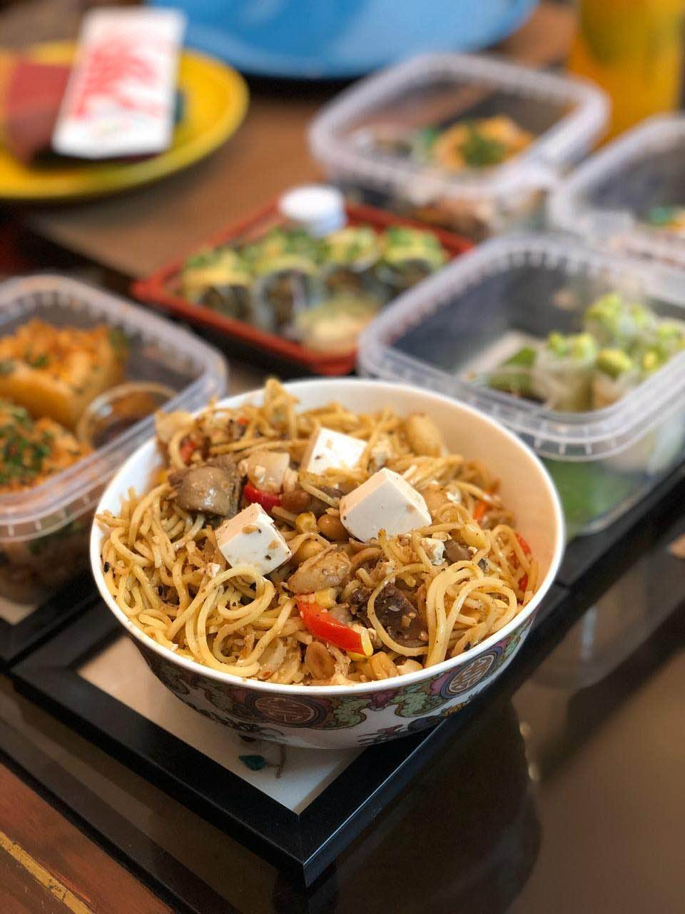 Dish,Food,Cuisine,Fried noodles,Ingredient,Noodle,Pancit,Chinese noodles,Chinese food,Yakisoba