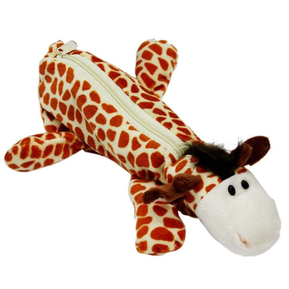 Stuffed toy,Giraffe,Plush,Giraffidae,Toy,Animal figure,Dog toy,Orange,Textile,Fawn