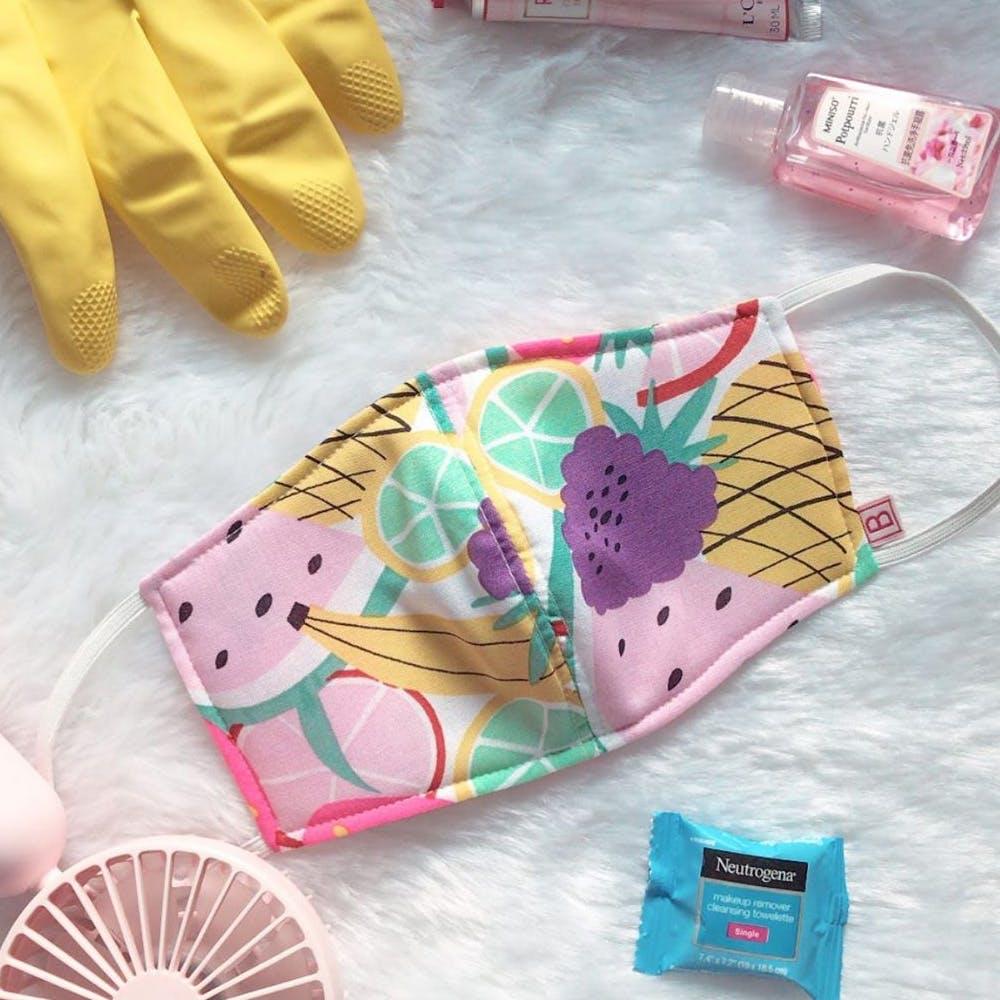 Pink,Ice cream cone,Hand fan,Fashion accessory,Paper