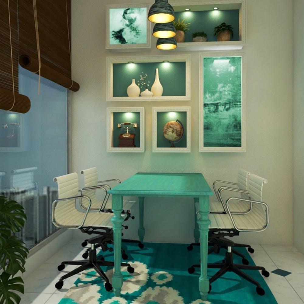 Room,Green,Turquoise,Interior design,Furniture,Table,House,Building,Home,Ceiling