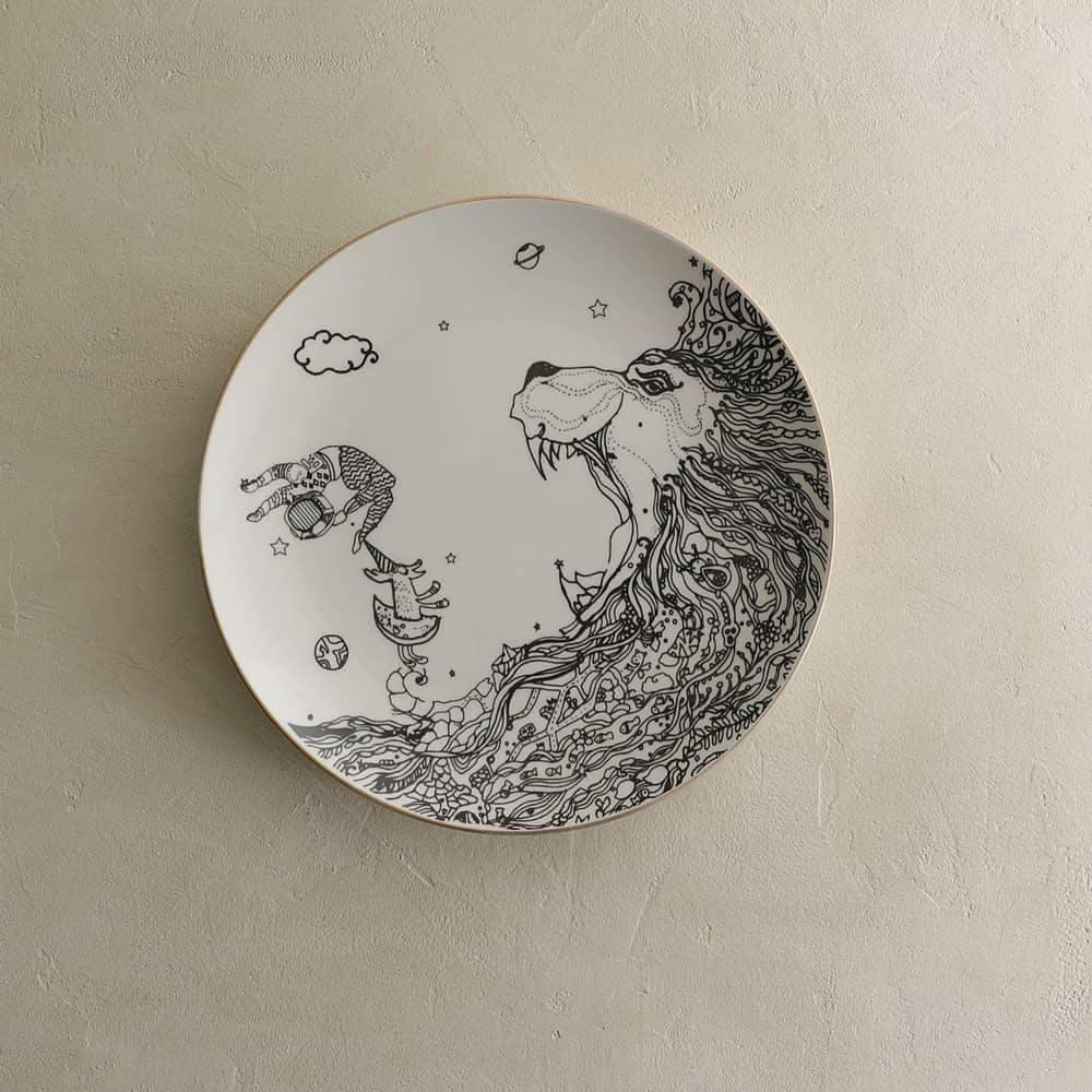 Illustration,Plate,Tableware,Circle