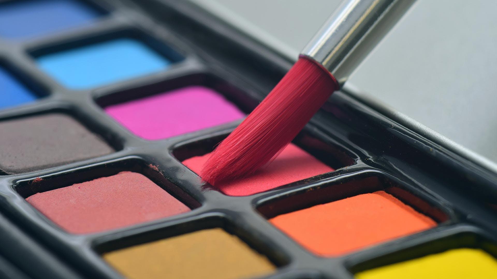Eye shadow,Pink,Orange,Cosmetics,Red,Eye,Product,Beauty,Violet,Organ