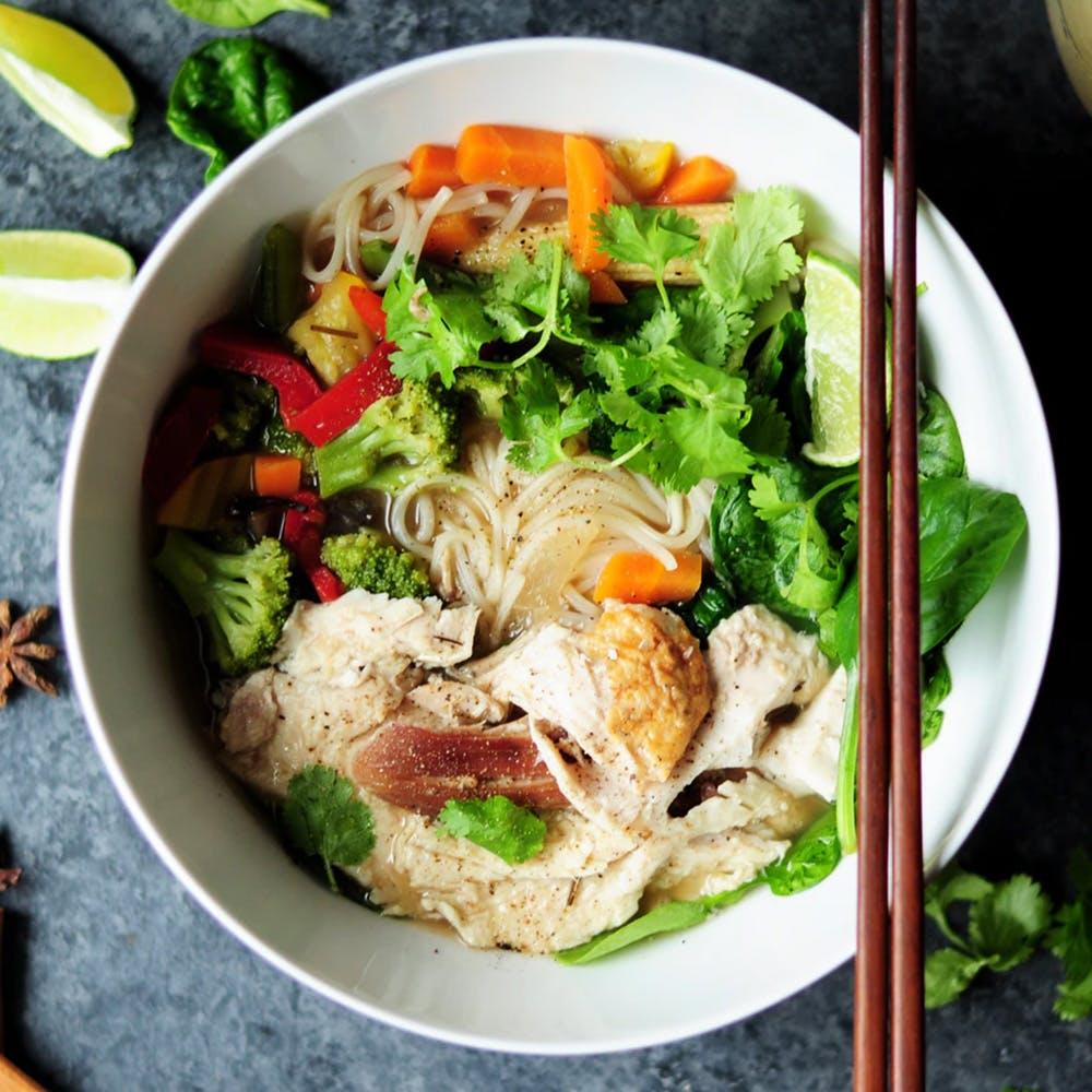Dish,Food,Cuisine,Ingredient,Comfort food,Pho,Produce,Rice noodles,Recipe,Meat