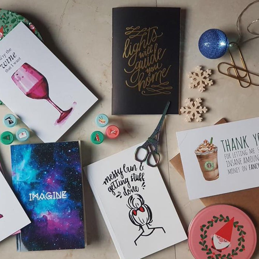 Glam Up Your Dull Desk With Fun Designs & Bold Quotes By This Brand