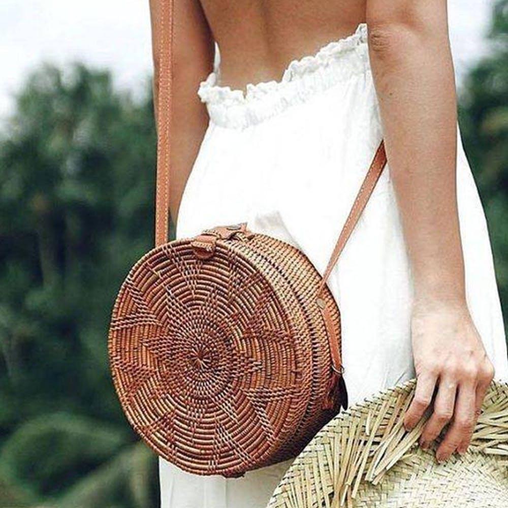 Clothing,Dress,Wicker,Waist,Shoulder,Basket,Fashion,Sun hat,Headgear,Photo shoot