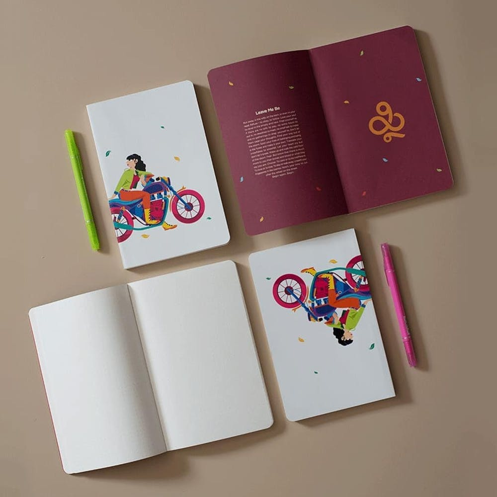 Notebook,Stationery,Paper product,Paper,Graphic design,Material property,Font,Illustration,Rectangle
