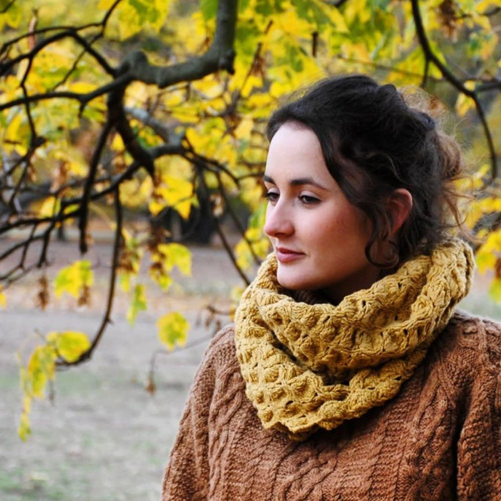 Yellow,Scarf,Leaf,Beauty,Autumn,Wool,Knitting,Tree,Shawl,Stole