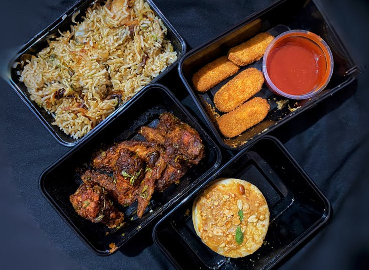 Dish,Cuisine,Food,Ingredient,Meal,Fried food,Take-out food,Prepackaged meal,Side dish,Produce