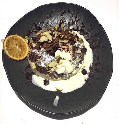 Food,Dish,Cuisine,Chocolate cake,Cake,Dessert,Semifreddo,Ingredient,Chocolate,Frozen dessert