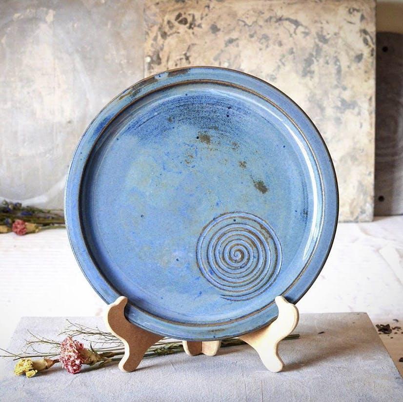 Dishware,Blue,Plate,earthenware,Ceramic,Pottery,Porcelain,Platter,Circle,Tableware