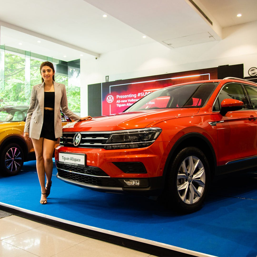 Check Out Pranitha Subhash's Experience With Volkswagen Tiguan Allspace & TRoc!