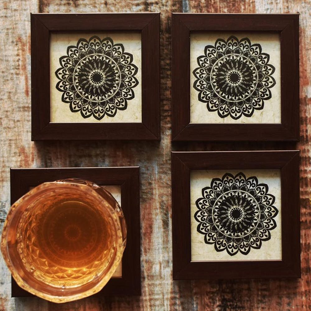 Wood,Pattern,Doily,Textile,Circle,Design,Visual arts,Ornament,Square,Carving